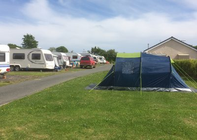 Tent & tourer pitches