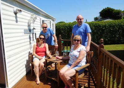 Family holiday at Brownhill